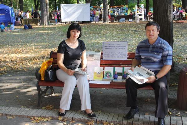 Тверезники взяли участь у святі столичної молоді «Юнь Києва запрошує»!