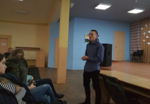 Урок трезвости в городе Жолква