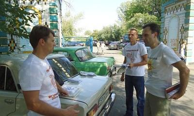 Всеукраїнська акція «Будь незалежним — живи тверезо!» у Софіївці, Дніпропетровська область