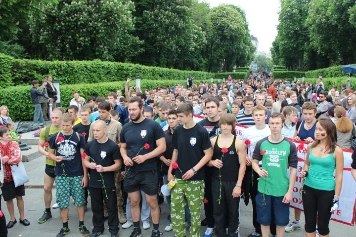 Пробіжка за тверезість на честь Дня Перемоги у Києві