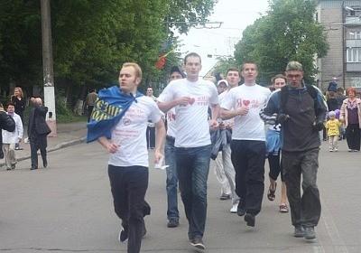 Пробіжка за тверезість на честь Дня Перемоги у Житомирі