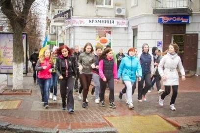 В Кировограде состоялась пробежка за трезвость