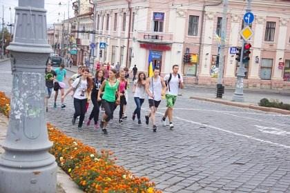 Молодіжний пробіг за тверезість у Чернівцях