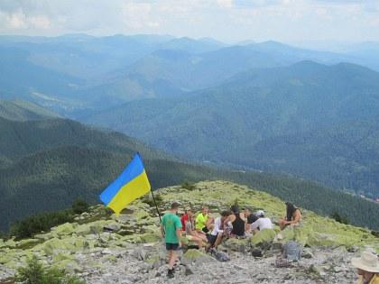 Похід у Карпати, присвячений до Дня Незалежності України та до дня народження Федора Калінчука. Фоторепортаж