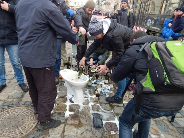 Протест проти геноциду українського народу