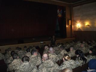Основа здоров'я армії— тверезий світогляд захисника Батьківщини
