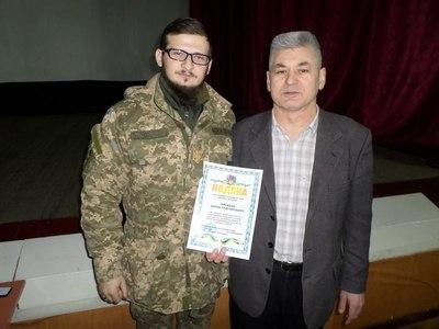 Лекція про тверезість для військових у Хмельницькому