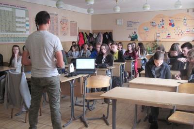 Уроки тверезості у смт Рудне