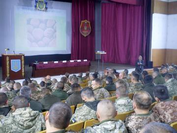 Юрій Оробець зустрівся з військовими Хмельницького