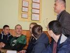 Встреча со студентами в Шепетовке