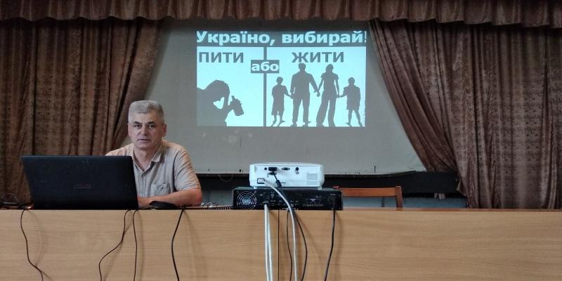 Зустріч з військовослужбовцями навчального центру «Десна»